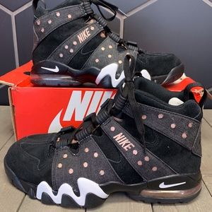 Nike Air Max2 CB 94' Black Denim Shoe Size 10.5
